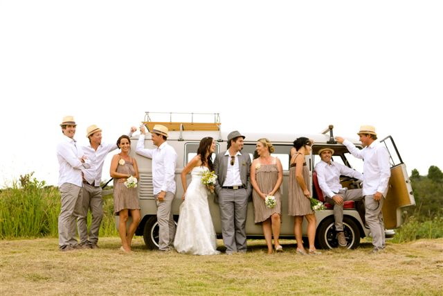 Lucy and Duncan's wedding