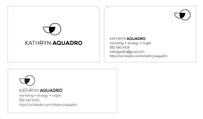 Kath Aquadro_Business Cards and Email Signature